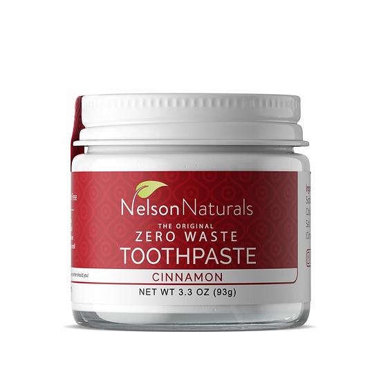 Nelson Naturals Zero Waste Tootepaste - Cinnamon