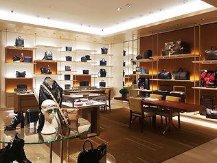 Louis Vuitton Holt Renfrew Bloor store interior