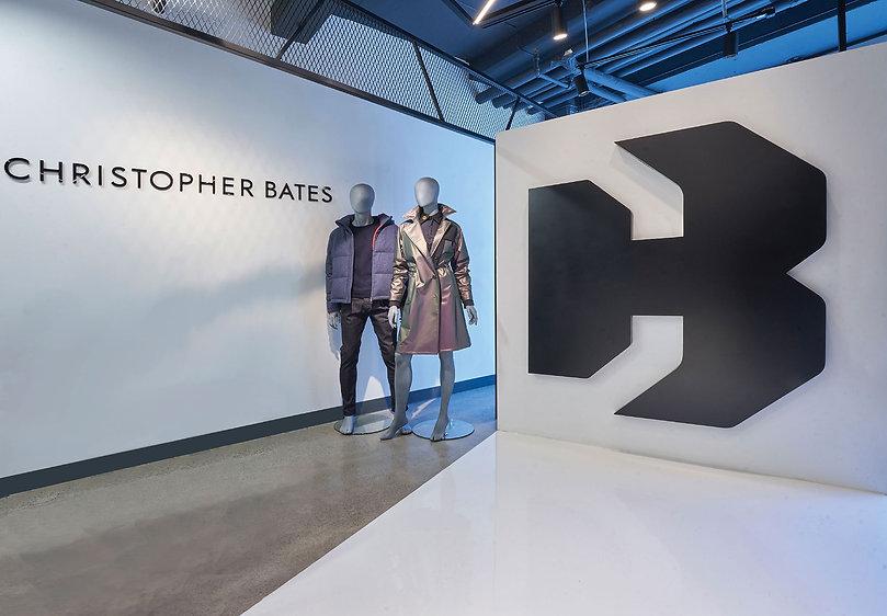 Showroom for Toronto fashion designer Christopher Bates