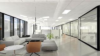 WhiteBox InStarAGF corporate design with epoxy floor