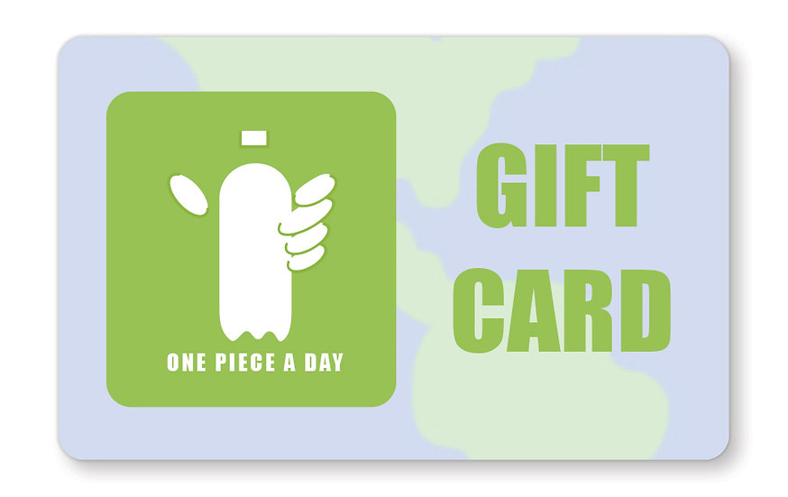a zero-waste, plastic-free gift card. Give the gift of sustainability.