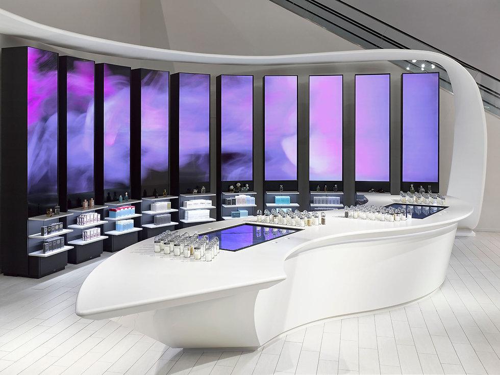 Fume Scent Lounge luxury retail architecture design Toronto, Ontario