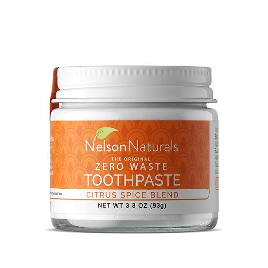 Nelson Naturals Zero Waste Tootepaste - Citrus Spice Blend