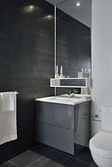 Origami Lofts showroom sink - toronto, ontario, canada