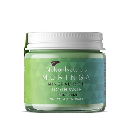 Nelson Naturals  Moringa Mineral Rich Toothpaste - Forest Fresh