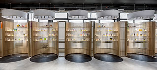 Sweet Seven Cannabis Co. store product display pods