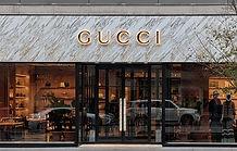 Gucci Bloor flagship store facade - Toronto, Ontario