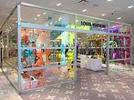 Louis Vuitton men's pop-up shop façade at Yorkdale Shopping Centre