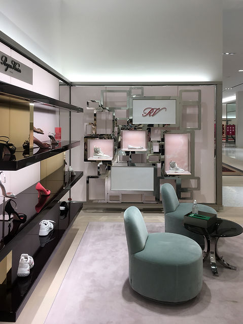 Roger Vivier Holt Renfrew Ogilvy Shoes Store