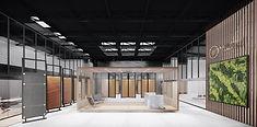 Mennie Canada Showroom warehouse office renovation
