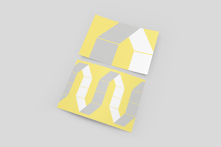 mockup-of-two-greeting-cards-lying-on-a-