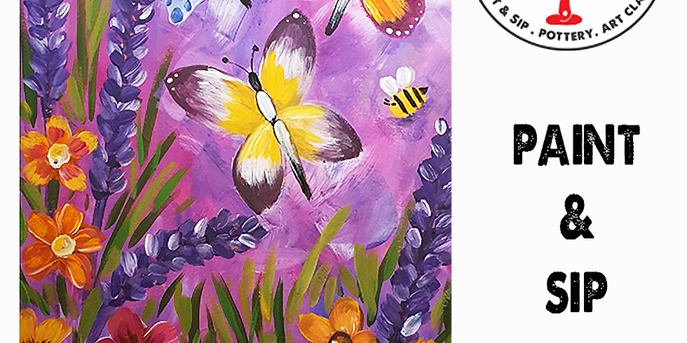 Friday 13th August Paint and Sip 6pm-8pm $45