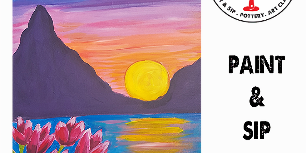 Saturday 31st July Paint and Sip 6pm-8pm $45
