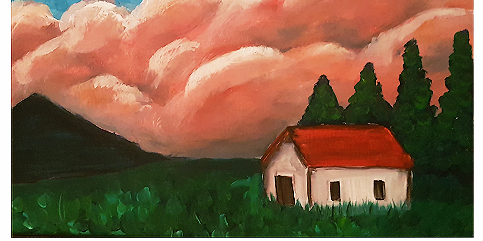 Saturday 14th August Paint and Sip 6pm-8pm $45