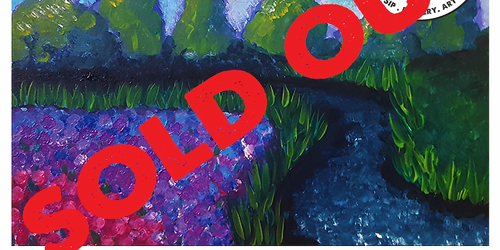 Friday 20th August Paint and Sip 6pm-8pm $45