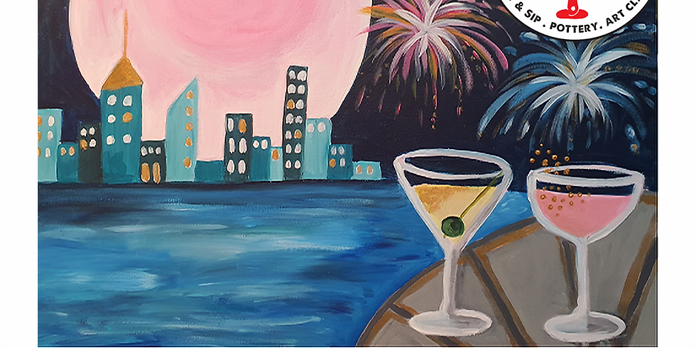 Saturday 21st August Paint and Sip 6pm-8pm $45