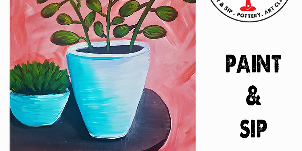 Saturday 14th August Paint and Sip 3pm-5pm $45