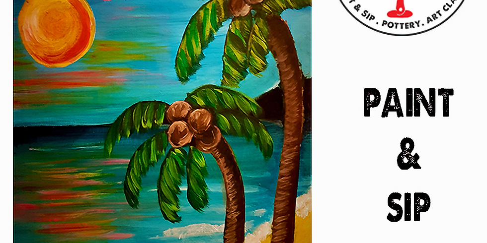 Saturday 7th August Paint and Sip 6pm-8pm $45
