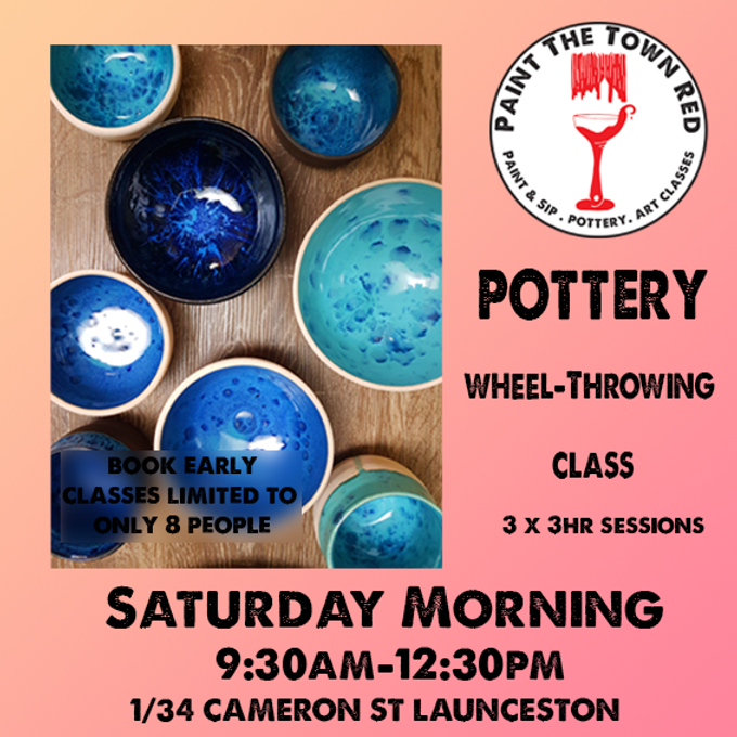 Pottery for Beginners Saturday Class - 20th, 27th November and 4th December