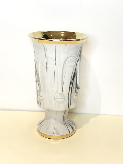 Le dévisagé marbre vase