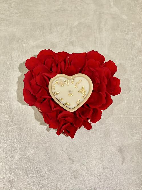Le cœur fleurie