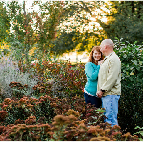 Roanoke Virginia Engagement // Rebecca + Dale // Destination Portrait Photographer