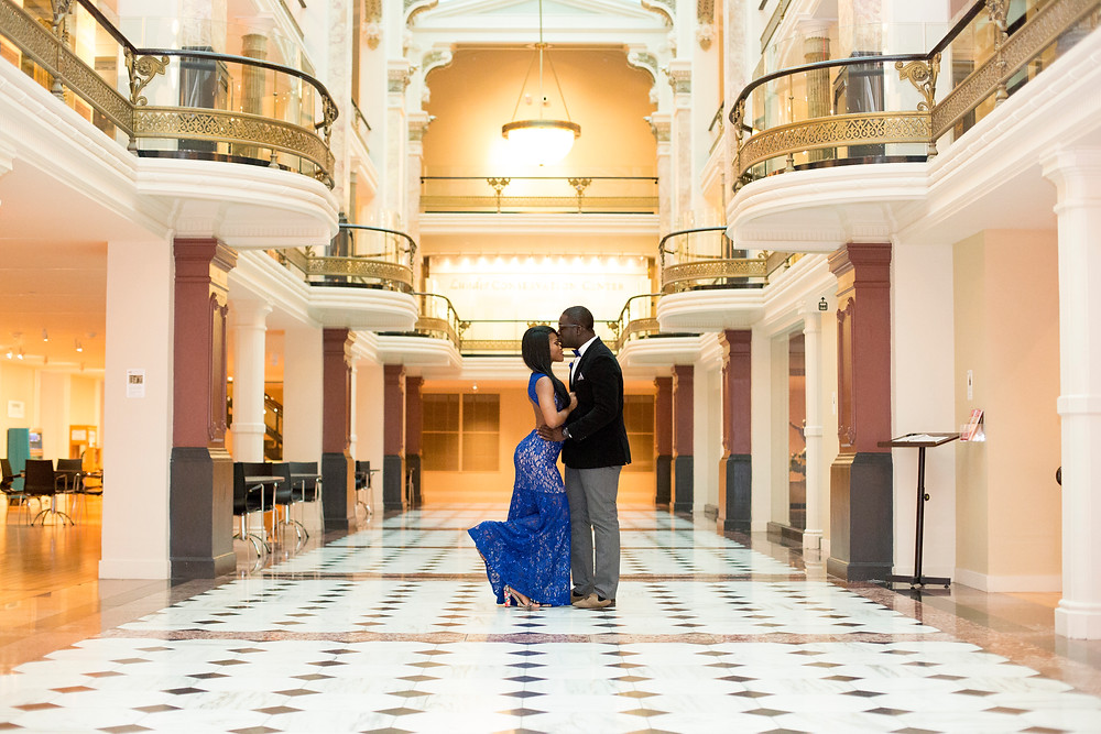 Smithsonian National Art Museum_ Engagement_Alicia Wiley Photography