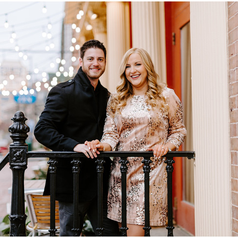 Fells Point Engagement // Ashley + Seth // Baltimore Photographer