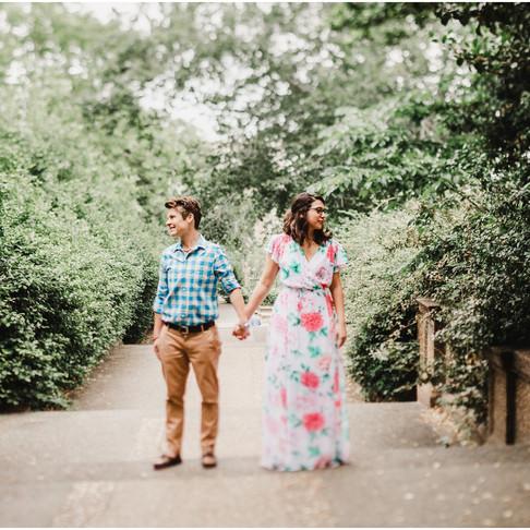 Meridian Park Engagement // Washington DC Photographer