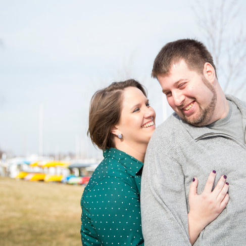Emily + Brian :: Annapolis Waterfront Engagement