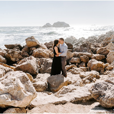 Sutro Baths San Francisco Engagement // Marie + Jeff // California Wedding Photographer