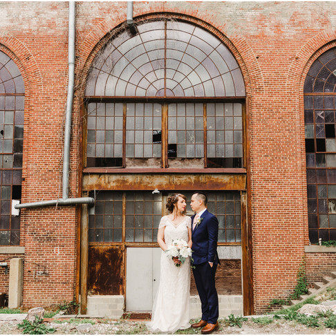 Corradetti Glassblowing Studio // Kate + Jasper // Baltimore Wedding Photographer