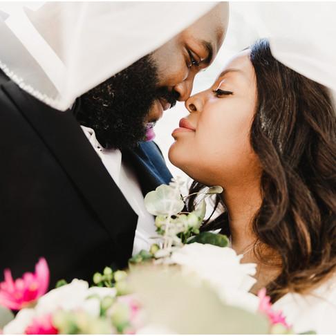 Annapolis Courthouse Elopement // Shaqueta + Dewayne // Maryland Wedding Photographer