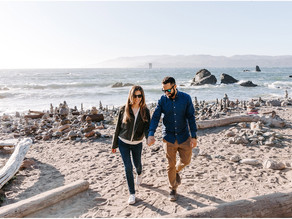 Lands End San Francisco Engagement Sessions