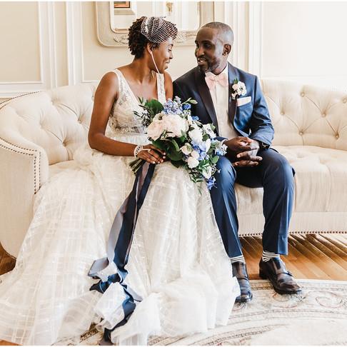 Oxon Hill Manor Wedding // Natana + Ade // Maryland Wedding Photographer
