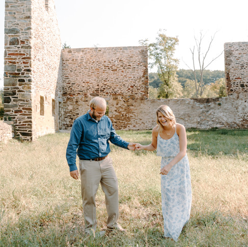 Jerusalem Mill Engagement // Sadie + Trevor // Maryland Photographer