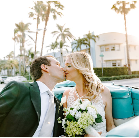 The National Hotel Miami Wedding // Laura + Michael // Travel Wedding Photographer