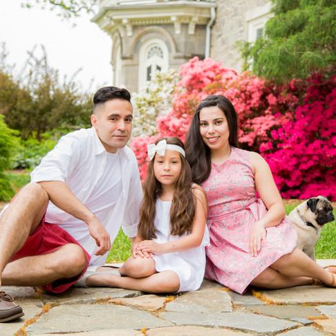 The Diaz Family :: Cylburn Arboretum Portraits