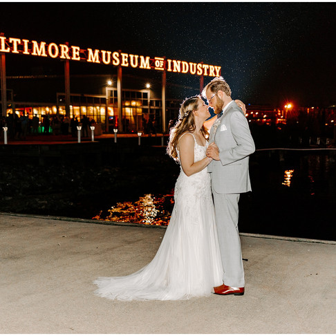 Baltimore Museum of Industry Wedding // Laura + James // Maryland Wedding Photographer