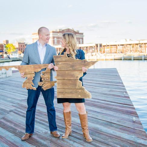 Sarah + Ryan :: Fells Point & Harbor East Engagement