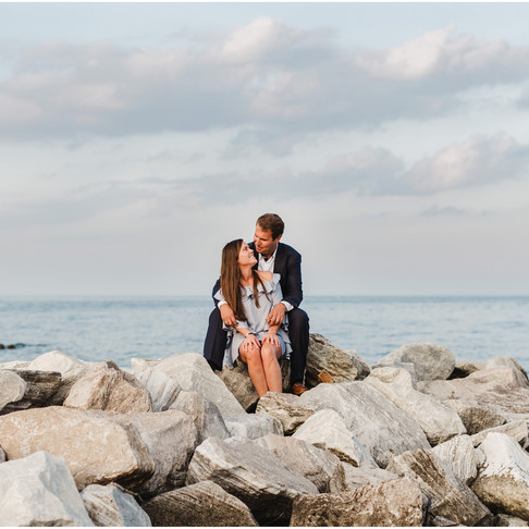 Gibson Island Engagement // Embry + Harris // Maryland Photographer