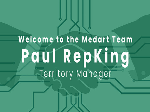 Welcome to the Medart Team, Paul!