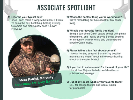 Copy of Associate SpotLight With Patrick Maroney!