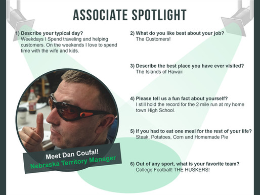 Associate SpotLight With Dan Coufal!