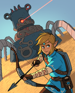 Link- Breath of the Wild