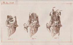 Barracks- sketches