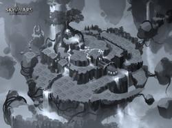 Island- Early sketch
