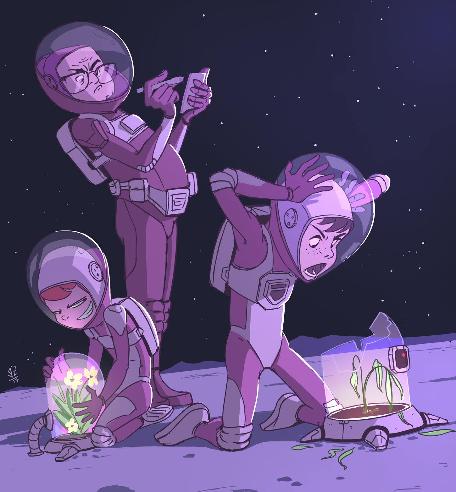 Teens in Space- webcomic
