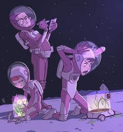 Teens in Space- webcomic