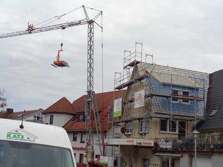 Die Dachsanierung in Unterjettingen ist vollbracht